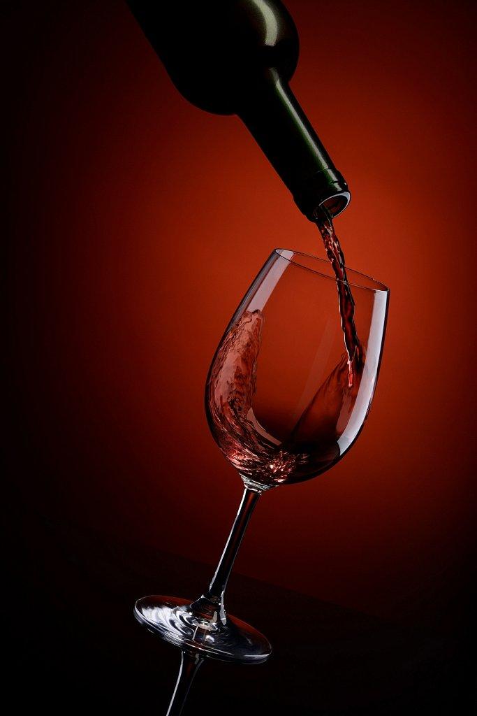 Вино. Имиджевая фуд-фотография