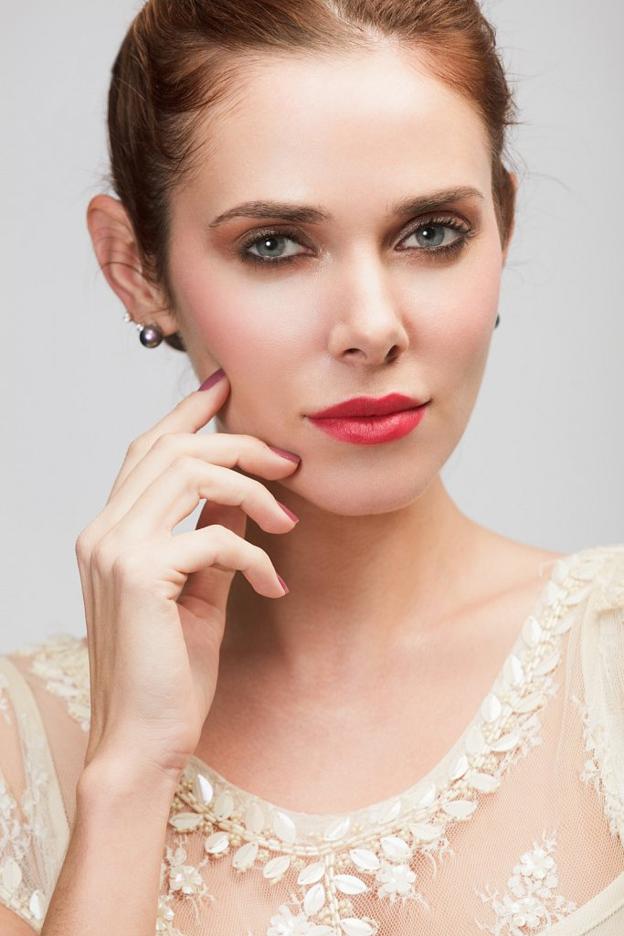 Вечерний макияж. Фотограф Волгоград